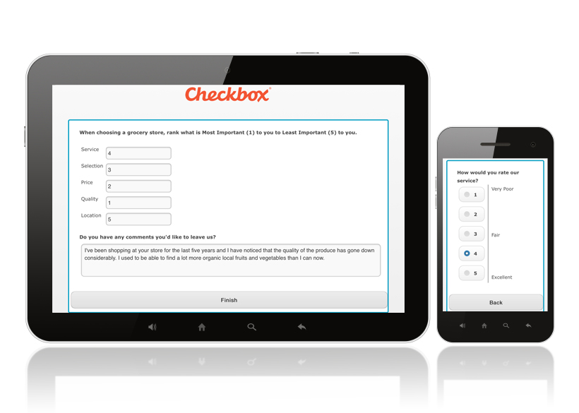 Checkbox Online Mobile Surveys