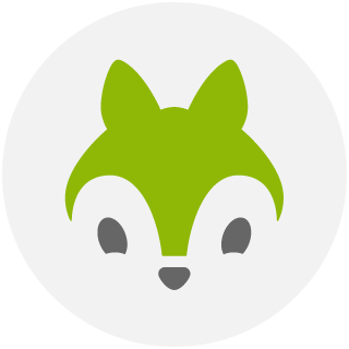eventnut squirrel head logo