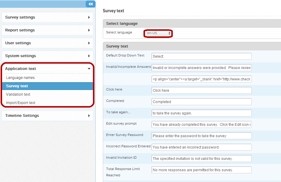 surveytext
